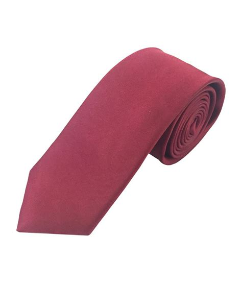 maroon yes sir sir michele maroon formal plain necktie buy online at low