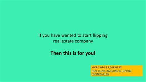 house flipping business names real estate house flipping business plan template and start up packa