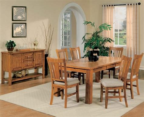 oak dining room set oak dining room table chairs marceladick