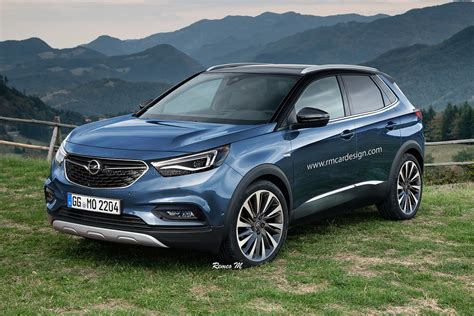 opel peugeot 2017 opel grandland x rendering is a peugeot in disguise