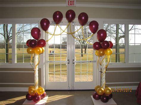 Balloon Decoration Ideas by Wedding Balloon Decor Amytheballoonlady