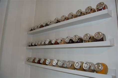 White Wall Mounted Spice Rack Accesories Decors Wall Mounted Ikea Spice Rack Hang On