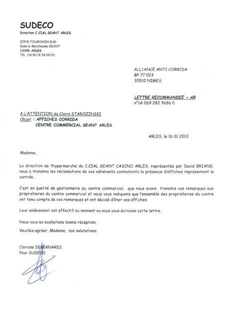 Lettre De Remerciement Geste Commercial Lettre Demande D Emploi Tourisme Employment Application