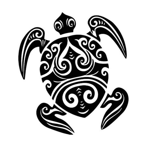 tribal stripes tattoo tribal sea turtle 4 vinyl decal sticker aftermarket