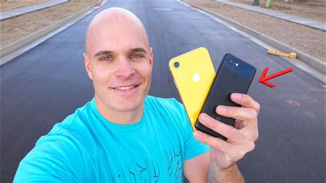 iphone xr drop test vs pixel 3 which phone survives