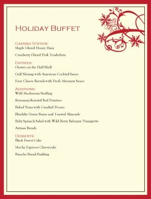 easy holiday buffet menu ideas easy holiday buffet menu ideas christmas buffet menu