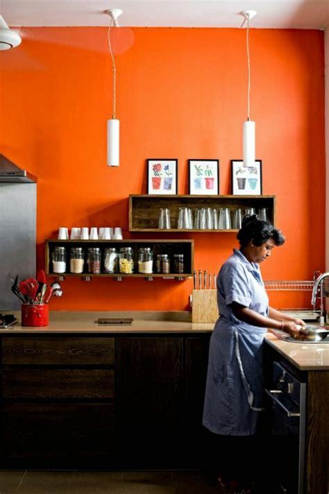 orange wandfarbe wandfarbe k 252 che ausw 228 hlen 70 ideen wie sie eine