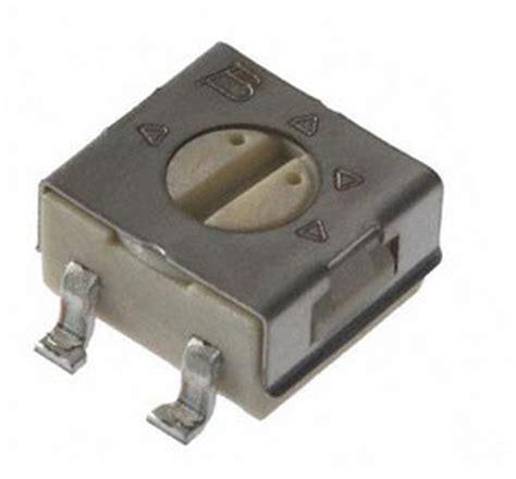 Trimpot Smd Trimmer Potentiometer Adjustable Resistor 3303 1k ohm smt trimmer pot variable resistor bourns 3314g 1 102e west florida components