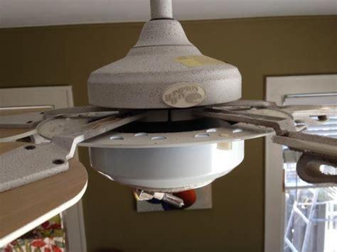 Tighten Ceiling Fan by Hton Bay Fan How To Reach Fan Brackets To Tighten