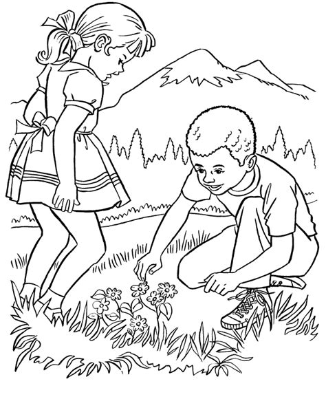 cool nature coloring pages nature coloring pages