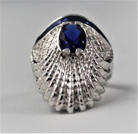 erte sterling silver ring