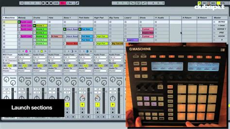 Using Ableton Live W Native Instruments Maschine For Production Performance Youtube Maschine Ableton Template