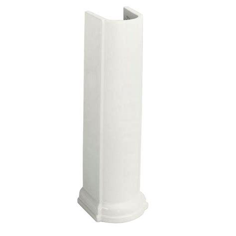 pedestal sink storage home depot devonshire pedestal