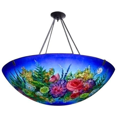 Ulla Darni Quot Floral Blue Quot Chandelier For Sale At 1stdibs Ulla Darni Chandelier