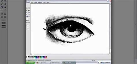 How to Draw eyes in MS Paint « Software Tips :: WonderHowTo