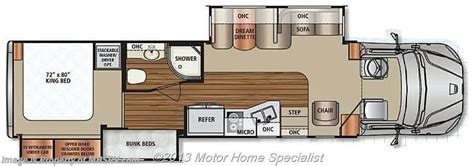 dynamax rv floor plans 2015 dynamax corp rv dx3 37bh super c w 2 slides 9 0l