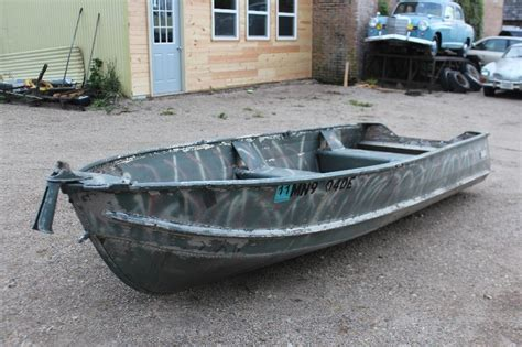 duck boat for sale mn 14 sears aluminum duck boat 415 mn auto auctions no