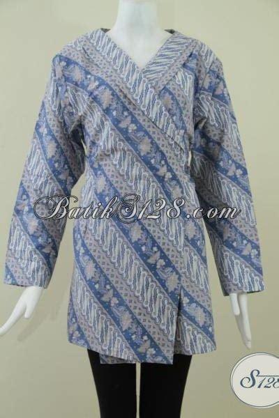blus kimono kain jarik juragan batik sedia blus batik masa kini model