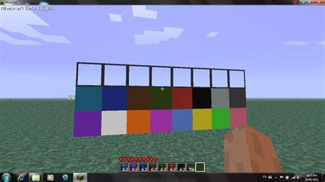 wool colors minecraft solid color wool fixed glass minecraft texture pack