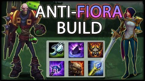 fiora mid the anti fiora build surviving mid late