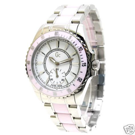 Guess Collection 35003 Silver Steel White guess collection gc ceramic 29005l2