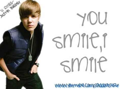 justin bieber u smile lyrics song justin bieber u smile lyrics official studio version