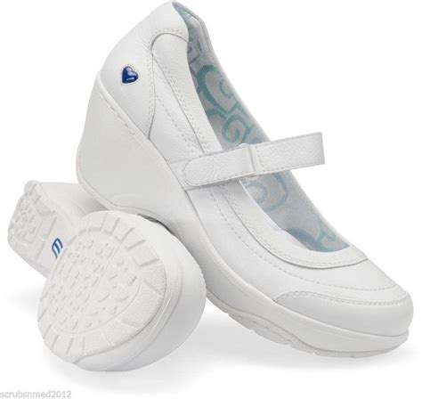 mates nursemate white nursing support shoe