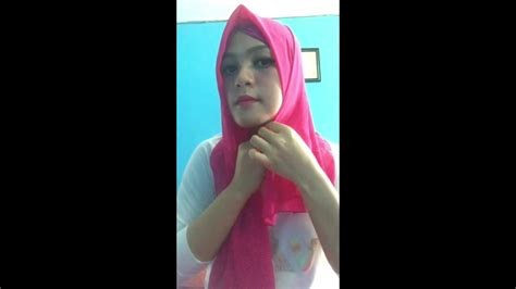 tutorial hijab menggunakan anting tutorial hijab anting pompom 2016 youtube