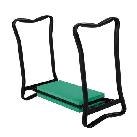 Garden Kneeling Bench by Garden Kneeler Seat Folding Gardening Chair Lawn Bench