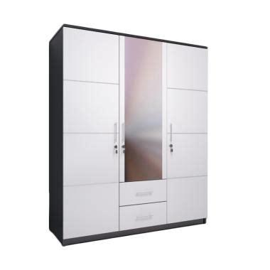 Lemari Pakaian Kaca 3 Pintu jual ben furniture lemari pakaian white 3 pintu