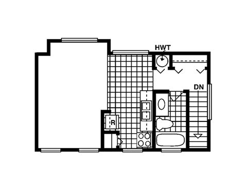 one room house plans the house plan shop blog 187 carriage house plans studio
