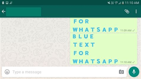 buat teks biru whatsapp lemoot