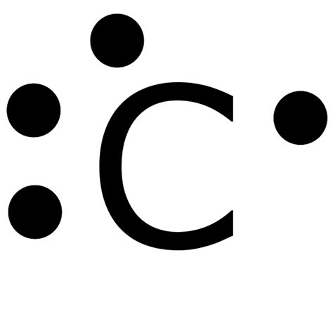 dot diagram of carbon electron dot structure of co2