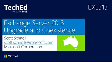 Should Mid 2013 Mba Upgrade To High by Exchange Server 2013 Upgrade And Coexistence Teched