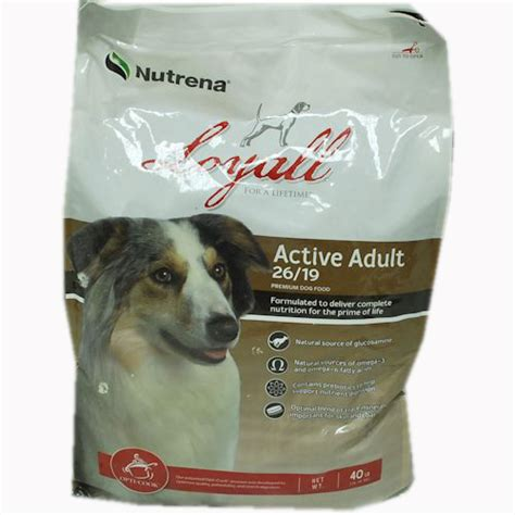 loyall puppy food loyall active food 40 lb bag