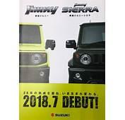 2019 Suzuki Jimny And Sierra