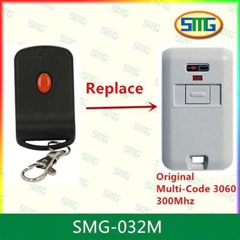 Multi Code Garage Door Remote Multi Code Linear Garage Door Opener Remote 300mhz