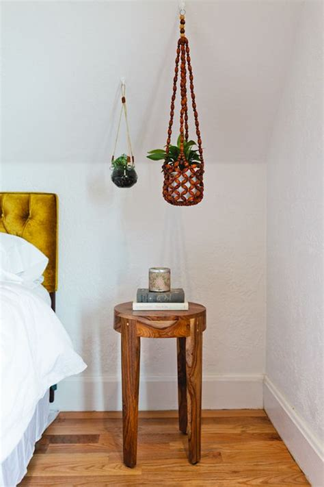 hanging plants  vaulted ceiling home hearth