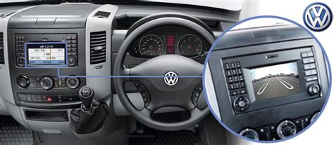 volkswagen crafter interior vw crafter 2015 reversing rear view camera kit