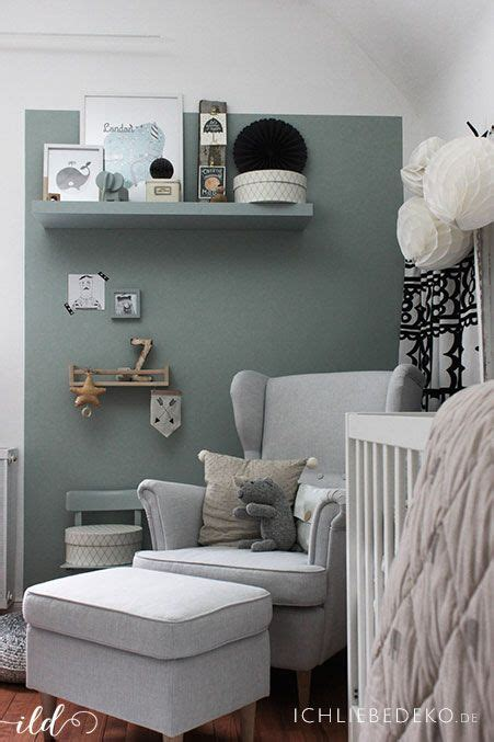 Kinderzimmer Ideen Gestaltung 899 by Trendfarbe Salbeigr 252 N Im Babyzimmer Jetzt Kommt Farbe An
