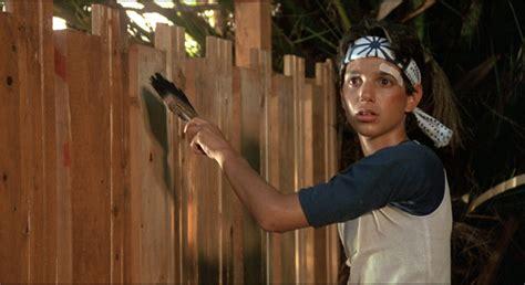 Mr Miyagi Backyard by Question About Mr Miyagi S Fence In Karate Kid Fence