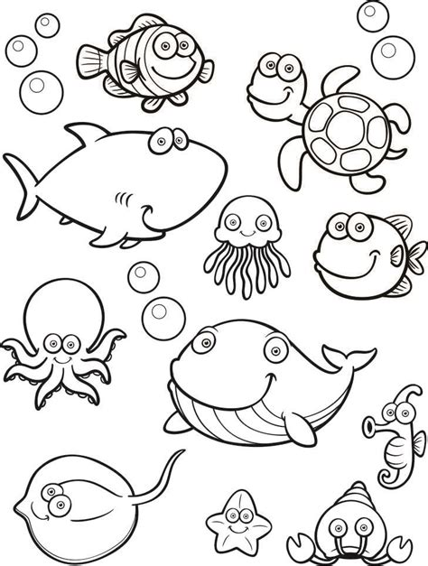 templates for under the sea under the sea printable