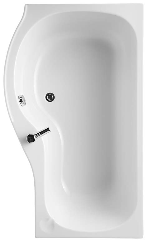 ideal standard shower baths ideal standard space 1500mm x 700mm idealform offset shower bath