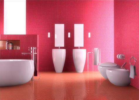 red wall bathroom bathroom red wall design