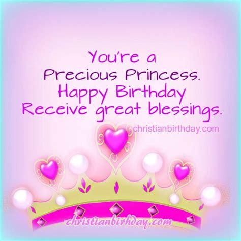 Happy Birthday To My Princess Quotes Christian Birthday Free Cards September 2015