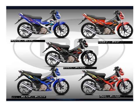Sticker Motor Aksesori Satria Fu Fi 2016 Design 3 the suzuki r 150 wrong wolf s ride