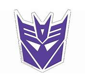 Autobot / Decepticon Logo Car Magnets And Shield Stickers