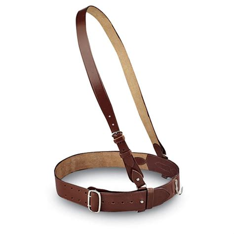 sam browne leather belt black 20232 shooting