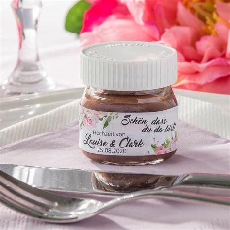 Nutella Aufkleber Hochzeit by 119 Best Gastgeschenke Hochzeit Images On Pinterest