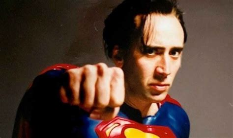what films has nicolas cage been in nicolas cage will play superman in new teen titans movie